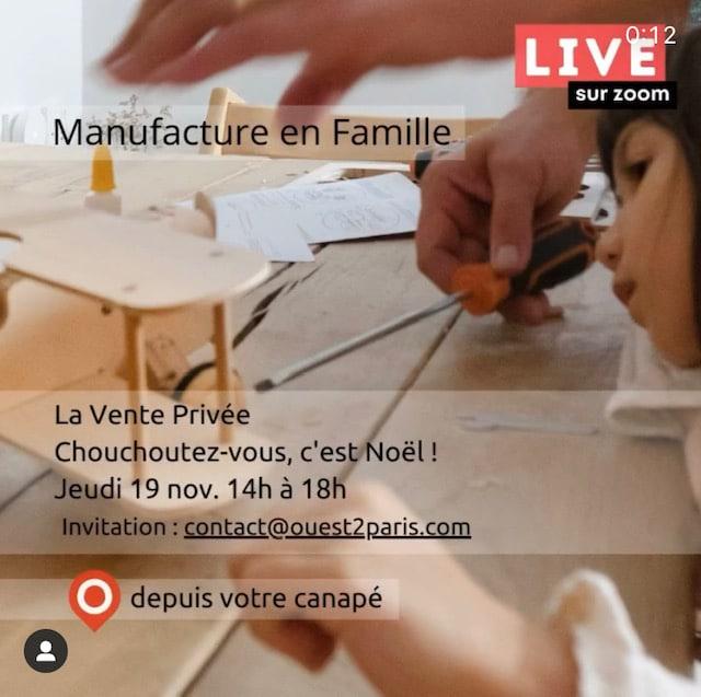 Manufacture de famille ouest de paris