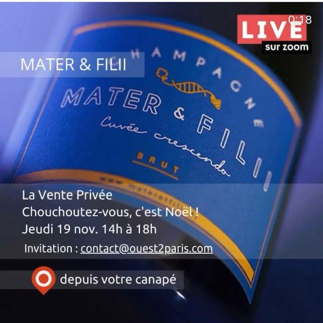 Mater et filii ouest de paris