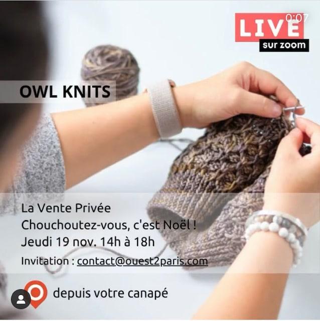 OWL KNITS ouest de Paris
