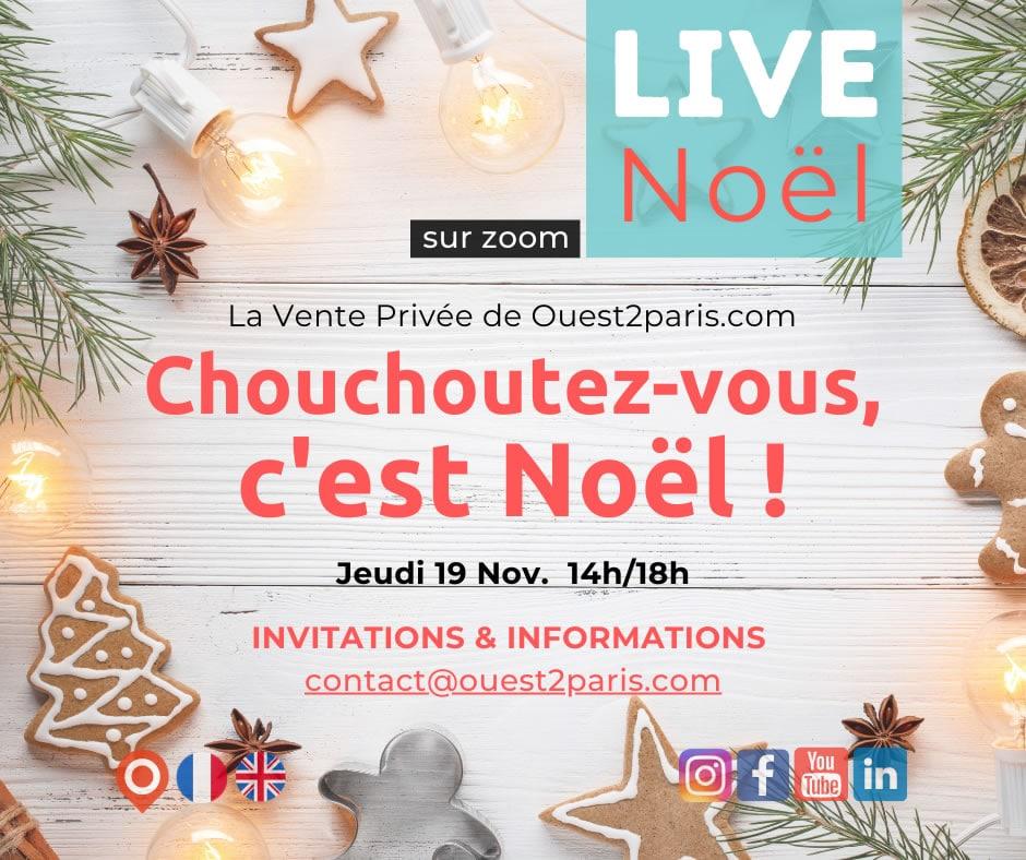 VENTE LIVE DE NOEL OUEST DE PARIS