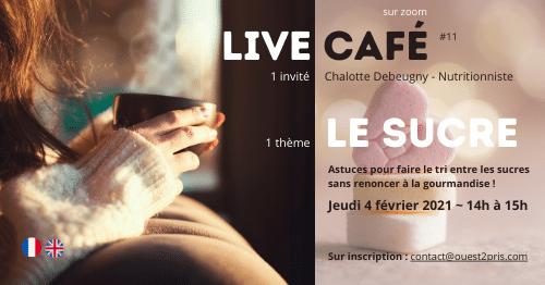 LIVE CAFE Le Sucre - Avec Charlotte Debeugny
