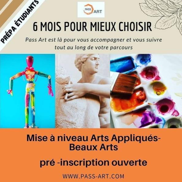 Prepa etudiant pass art ouest de paris