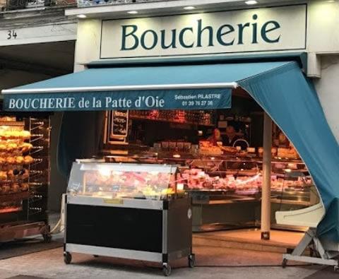 Boucherie de la Patte d'oie à Croissy sur Seine