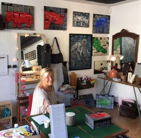 Christine Le Martret -- Peintre - Chatou Ouest Paris
