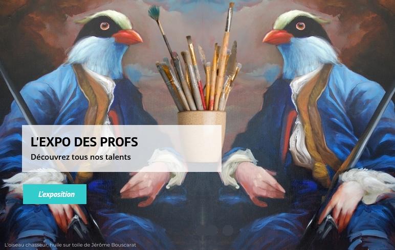 Expo des profs Atelier piece unique fourqueux