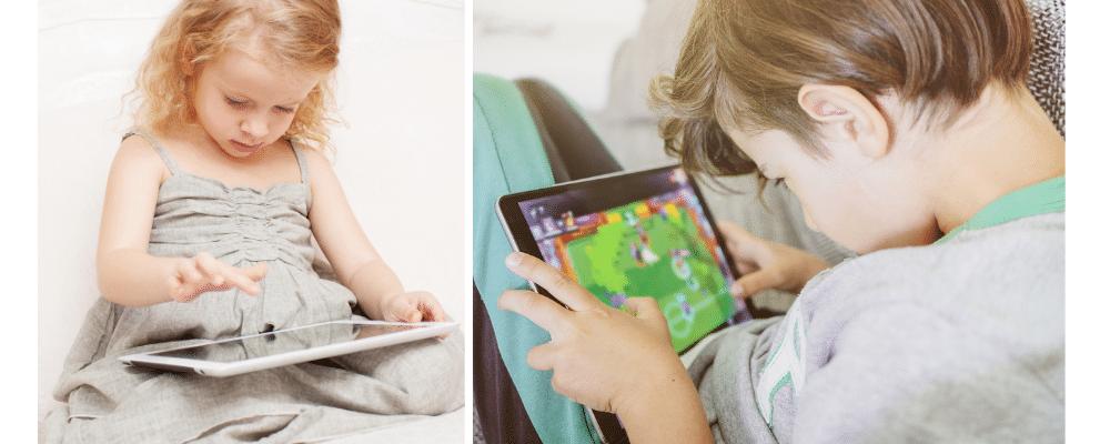 Limiter le temps sur les tablettes enfants