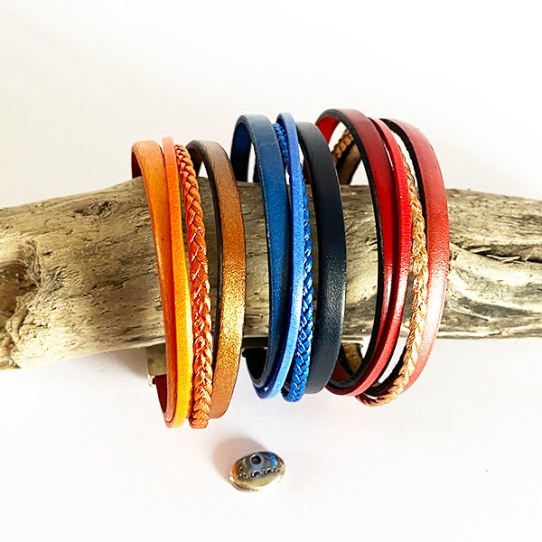 Bracelet-cuir-couleur-tresse-f3-Aramance
