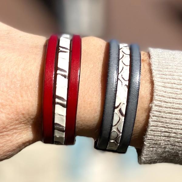 Bracelet-cuir-serpent-gris-rouge-m-Aramance