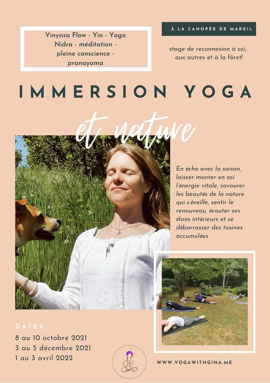 Immersion Yoga Nature - Mareil Marly Yvelines