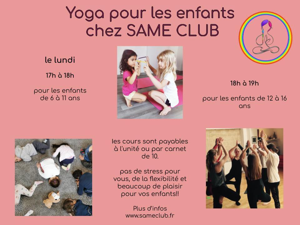 Yoga pour les enfants Ouest de Paris