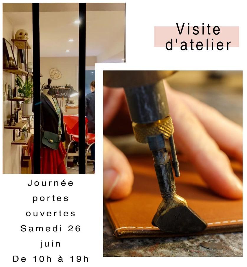 Atelier MWB | Maroquinerie sur-mesure Chatou Yvelines