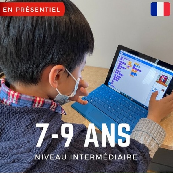 Techkids Academy - Stage Vacances d'ete - Saint Germain en Laye