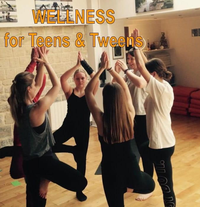 Yoga With Gina - Wellness for teens and tweens
