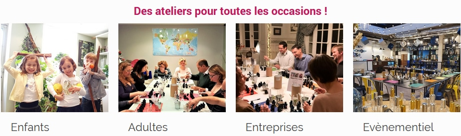 Le parfum en herbe - Les ateliers ouest de Paris