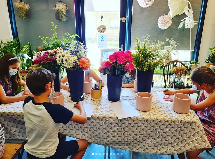 Mon panier a fleurs - Saint Germain en Laye Atelier Enfant