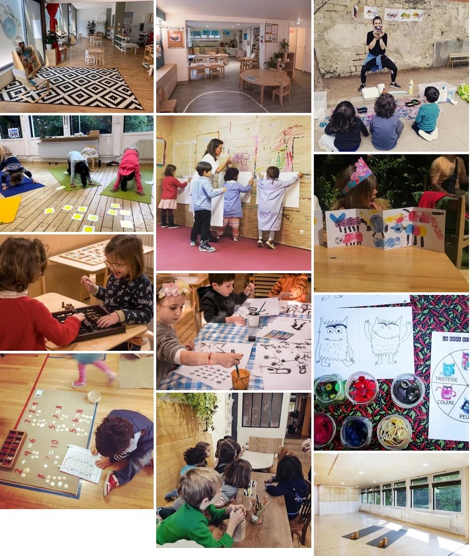 Maria Canal - Activites Enfants ludo- éducatives Paris Ouest