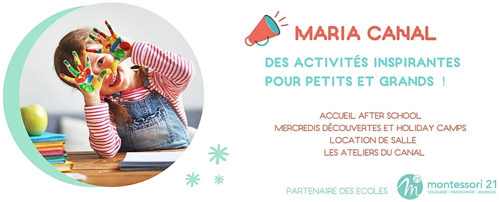 Maria Canal - Nanterre Activites inspirantes bilingue Montessori