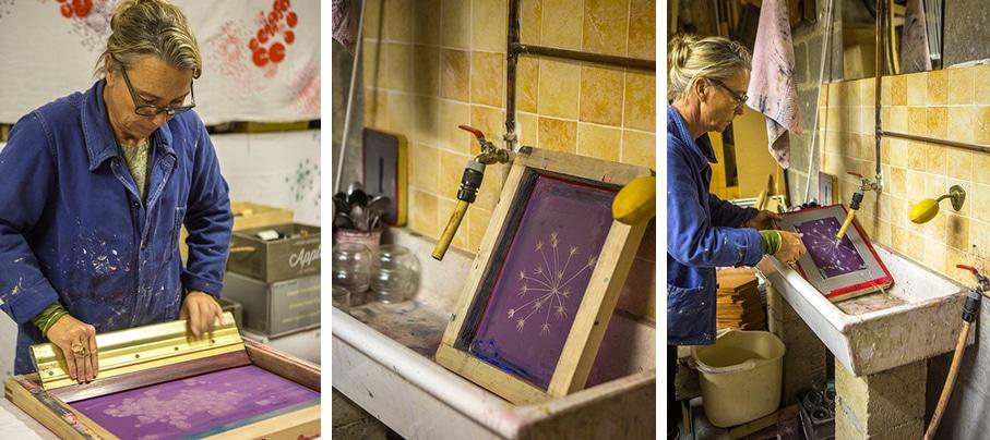 Un rond dans l'eau - L'atelier a Carrieres sur Seine - Angès Paris ouest