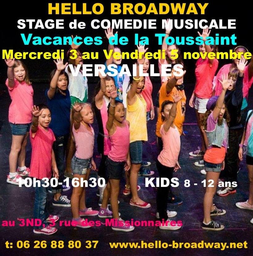Hello Broadway Stage Toussaint
