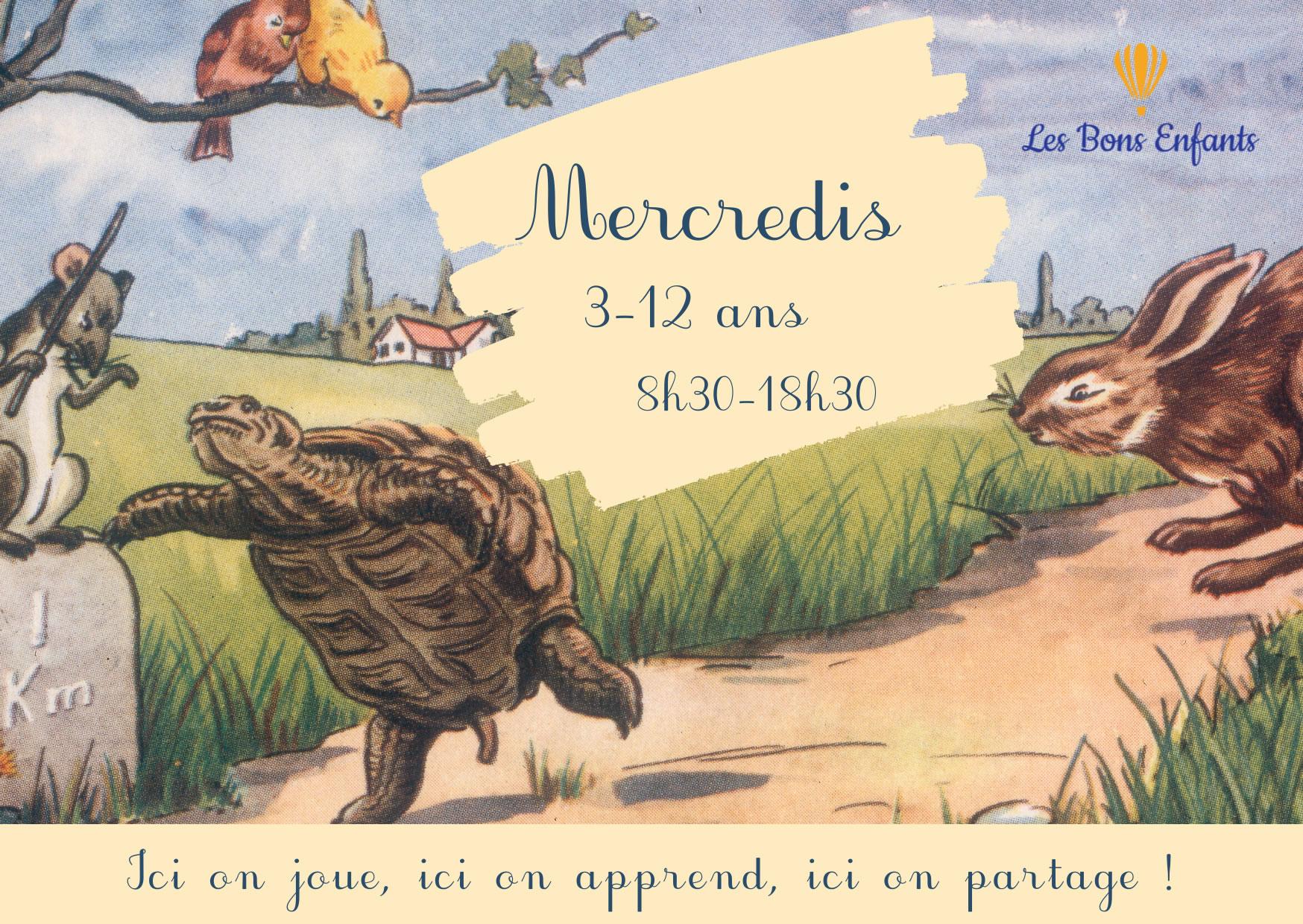 Les bons enfants - les mercredis _ Paris ouest