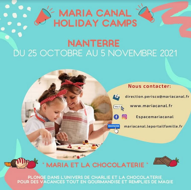 Maria Canal Holiday Camps Nanterre Paris ouest