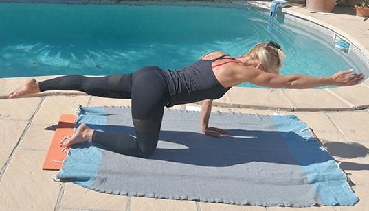 Pilates avec Annelie - Nordic Sports 78
