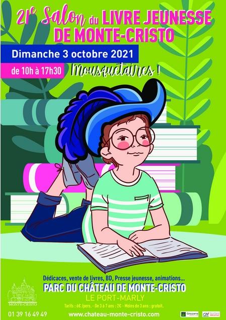 Salon du livre de la jeunesse chateau de Monte-Cristo Le Port Marly