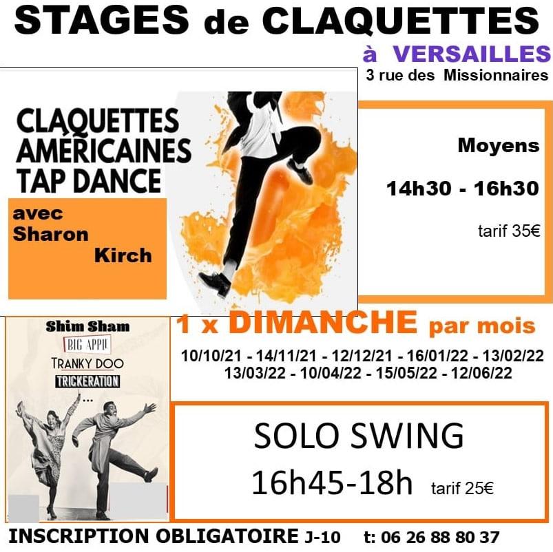 Stage de Claquette HelloBroaway Versailles