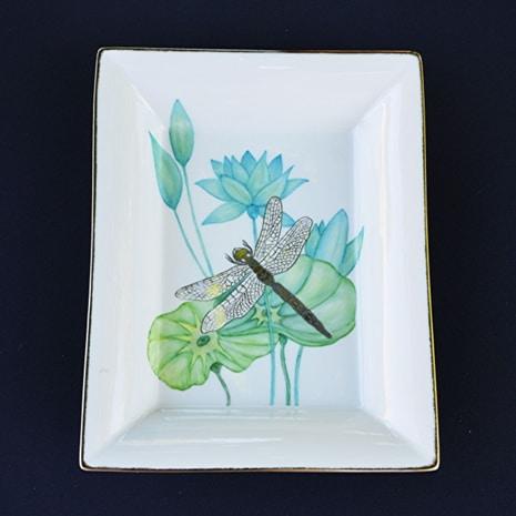 Fleur de Kaolin Peinture sur porcelaine