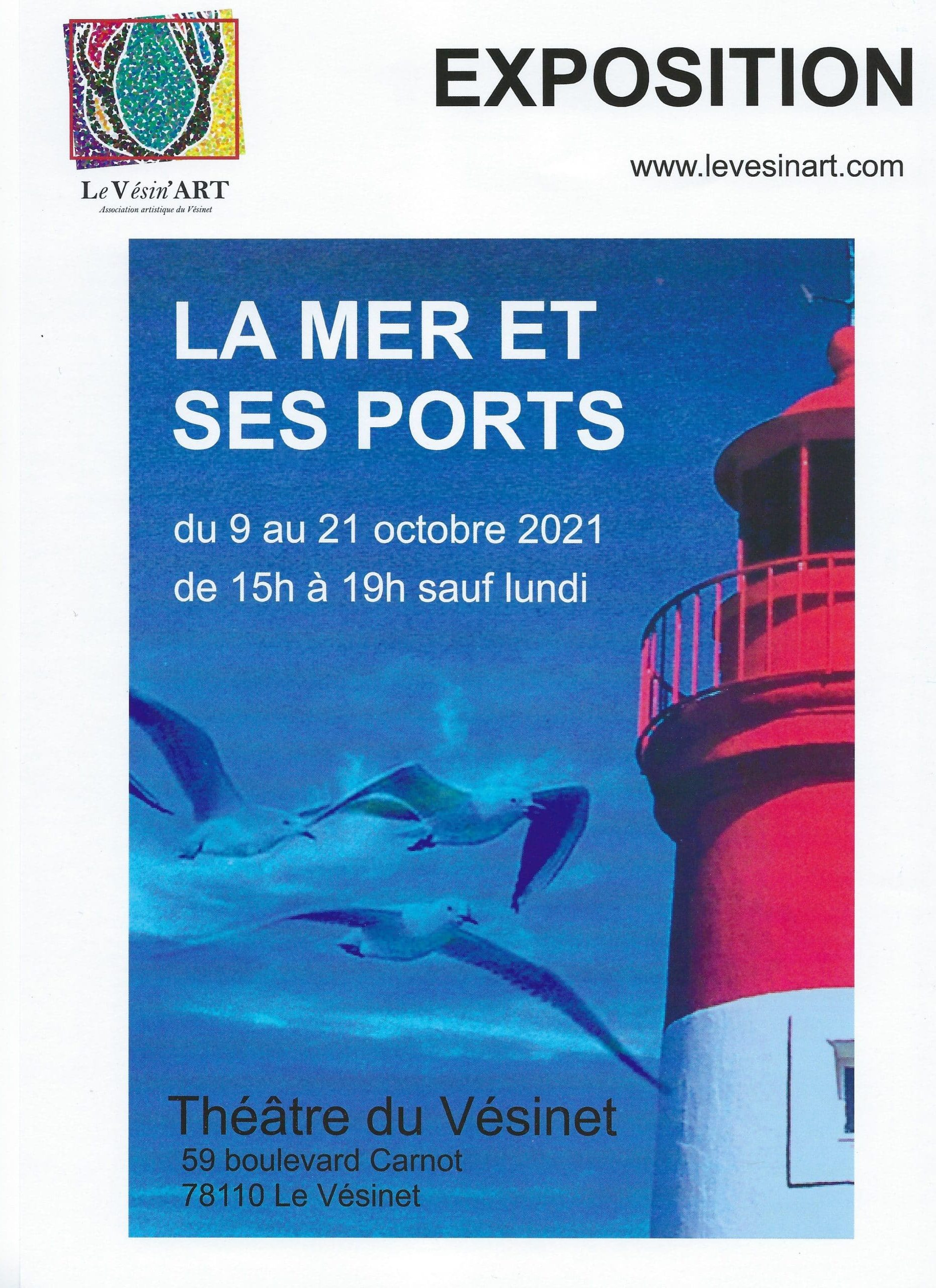 Exposition Christine Le Martret Le Vesinet