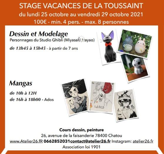Atelier 26 - Atelier de peinture à Chatou yvelines Paris ouest