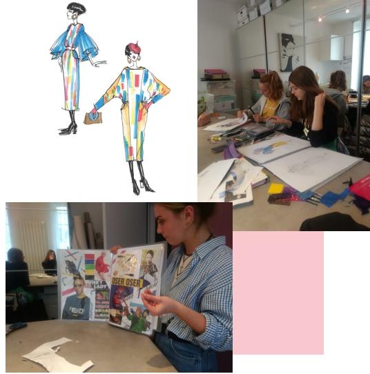 Stage de dessin de mode - Au fil de la mode Saint Germain en Laye