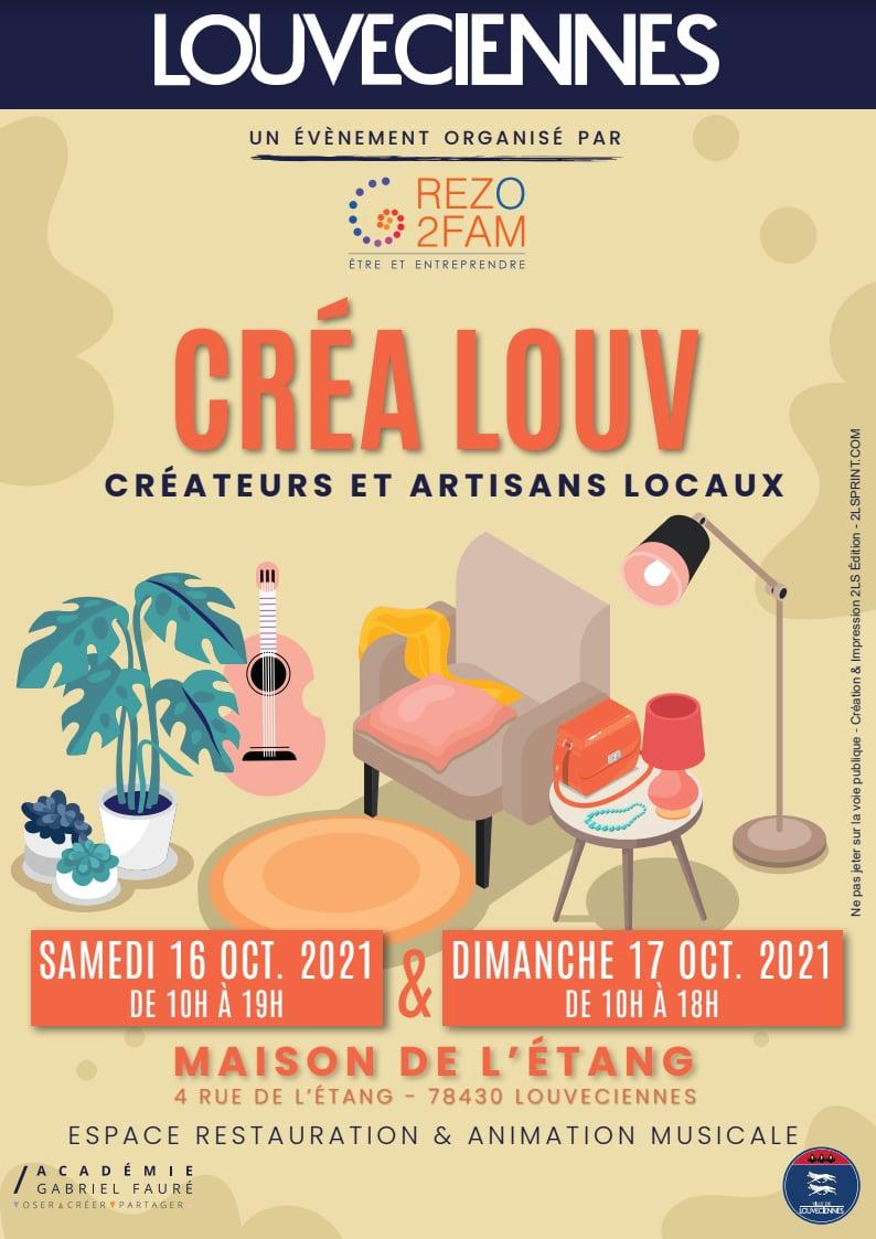 Crea Louv - Createurs et artisans locaux Paris ouest