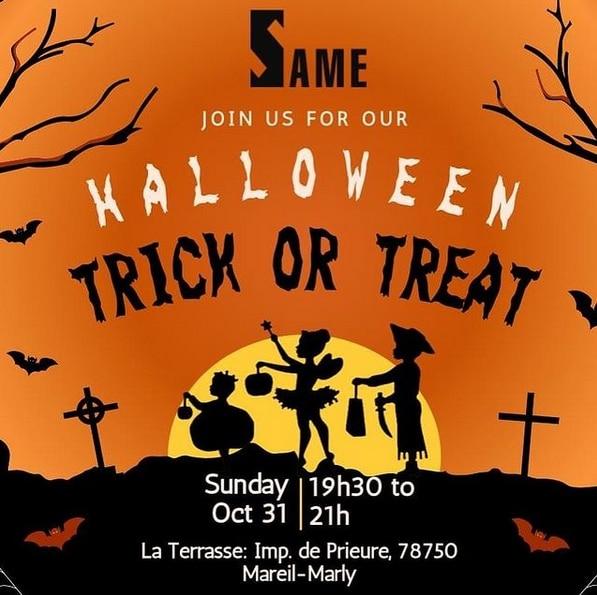 Halloween Same Club Rick or Treat