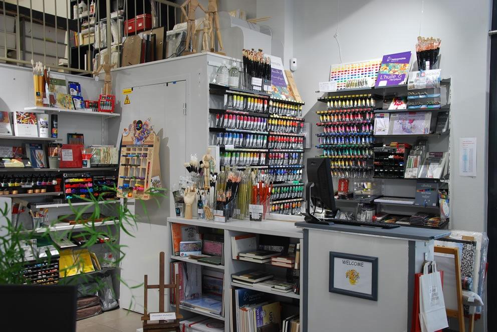 Materiel Beaux Art Atelier piece unique Saint germain en Laye