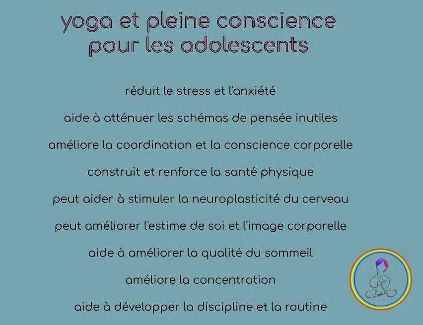 Yoga with Gina cours de Yoga pour ados Paris ouest